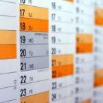 grafika - kalendarz
